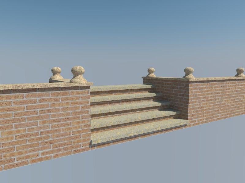 brick step 3ds