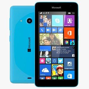 microsoft lumia 535 dual 3d dwg