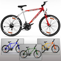 mountain bike 3d max