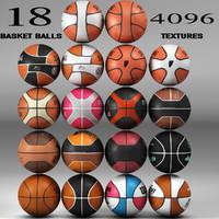 3d model of basket ball 18