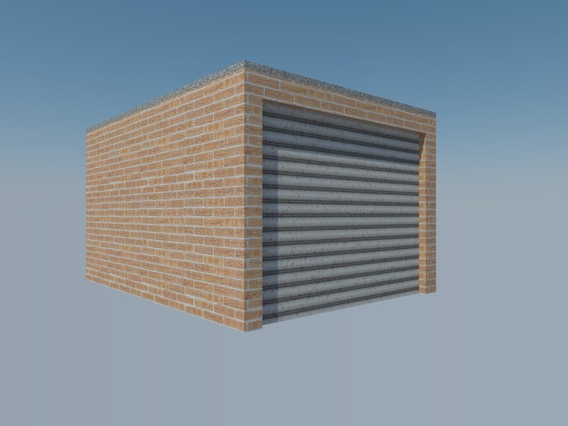 3ds max garage