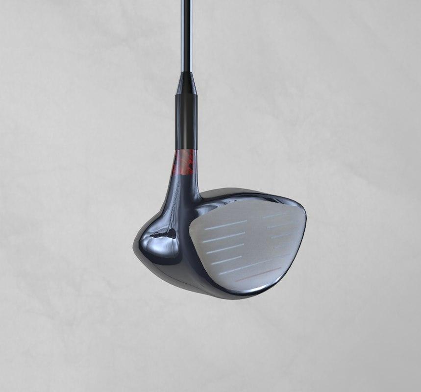 3d c4d golf club