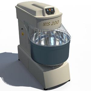 kneading machine 3d model