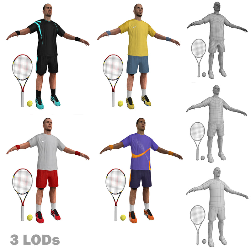 tennis players max