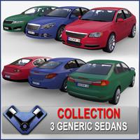 Generic Sedan Pack 01
