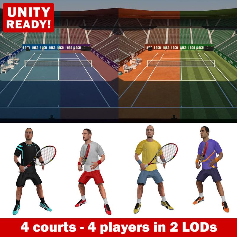 max tennis pack games