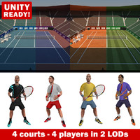 Tennis Game PACK V2
