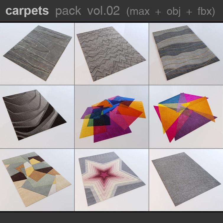 photorealistic carpets 3d max