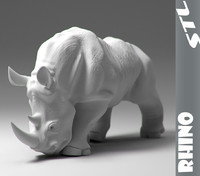 stl rhino 3d obj