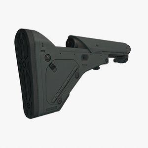 ubr stock 3d model