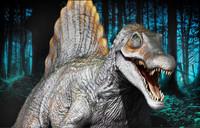 3d model of spino spinosaurus