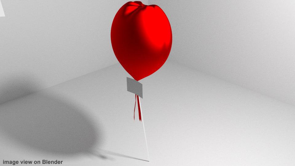 maya balloon love shape