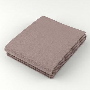 3d towel fold