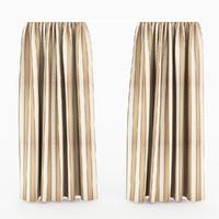 free curtain 01 3d model