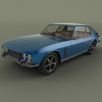 3d 1968 jensen interceptor model