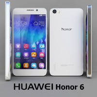 3d model 6 huawei honor