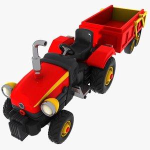 max cartoon tractor toon