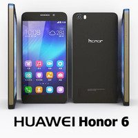 3ds max huawei honor 6 black