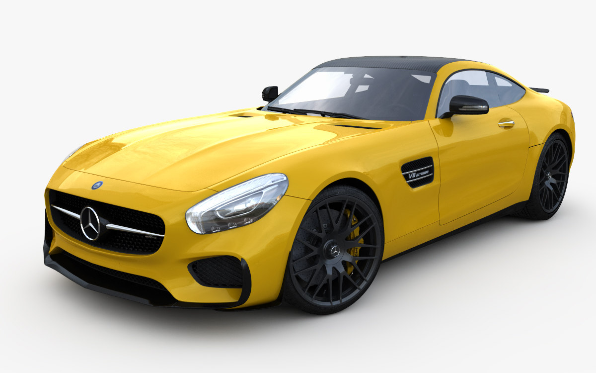 mercees benz amg gt 3 moel