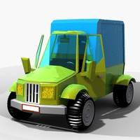 car toon cartoon 3d max