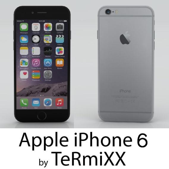 3d c4d iphone 6
