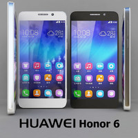 huawei honor 6 black 3d max