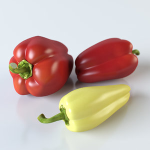 3ds max realistic pepper