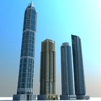 Dubai Marina Towers 01