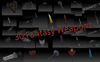 30 fantasy weapons