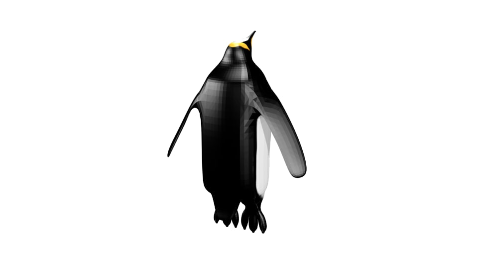 3d 3ds emperor penguin