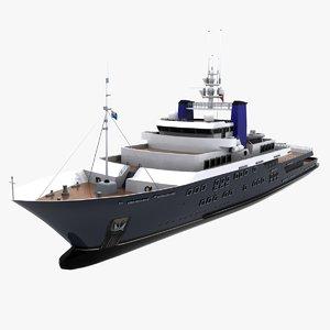 3d derecktor yacht 60m