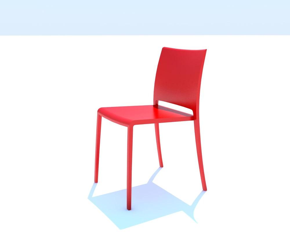 mya chair 3d model