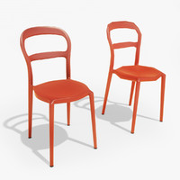 3d model of kian heather chair