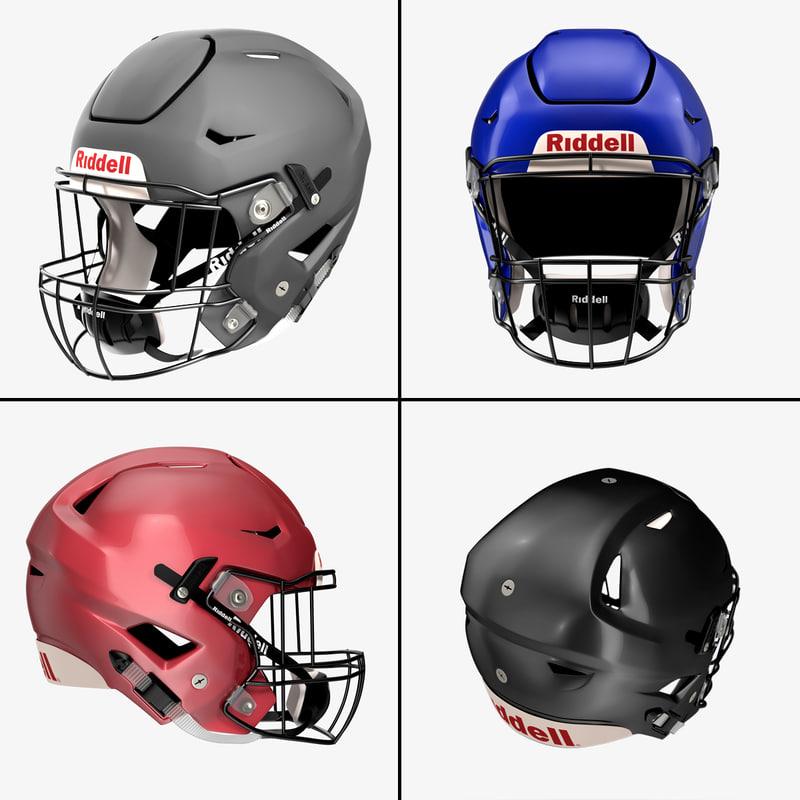 3ds riddel speedflex helmet