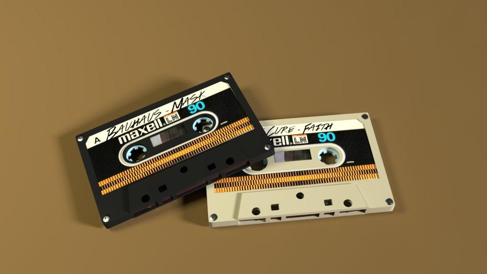cassette tape 3d 3ds