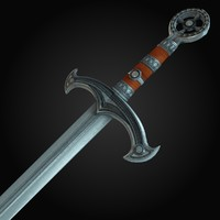 Medieval Sword - GameReady