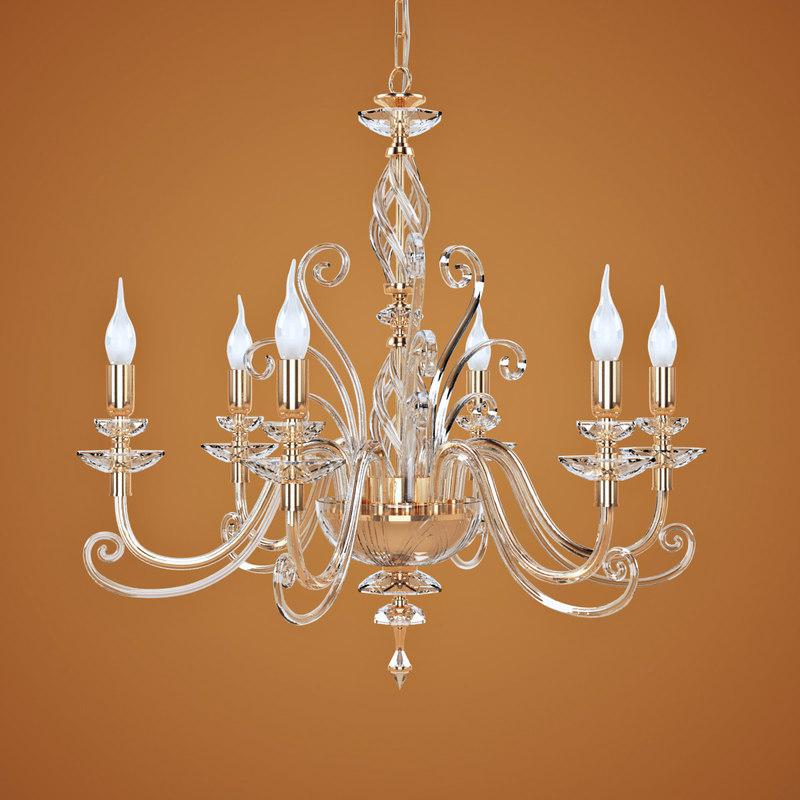 3d chandelier euroluce lampadari alicante model