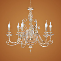3d chandelier euroluce lampadari alicante model