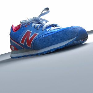 trainers shoes 3d model