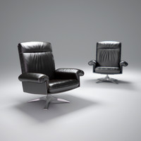 3d de-sede-ds-31-lounge-chair