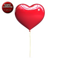 Heart Shaped Balloon 1