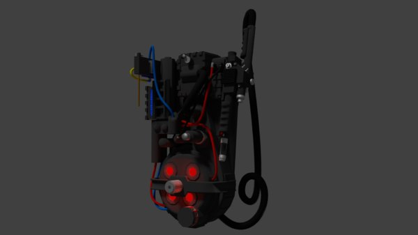 ghostbusters proton pack neutrino blend