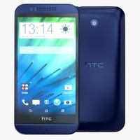 HTC Desire 510 Deep Navy Blue