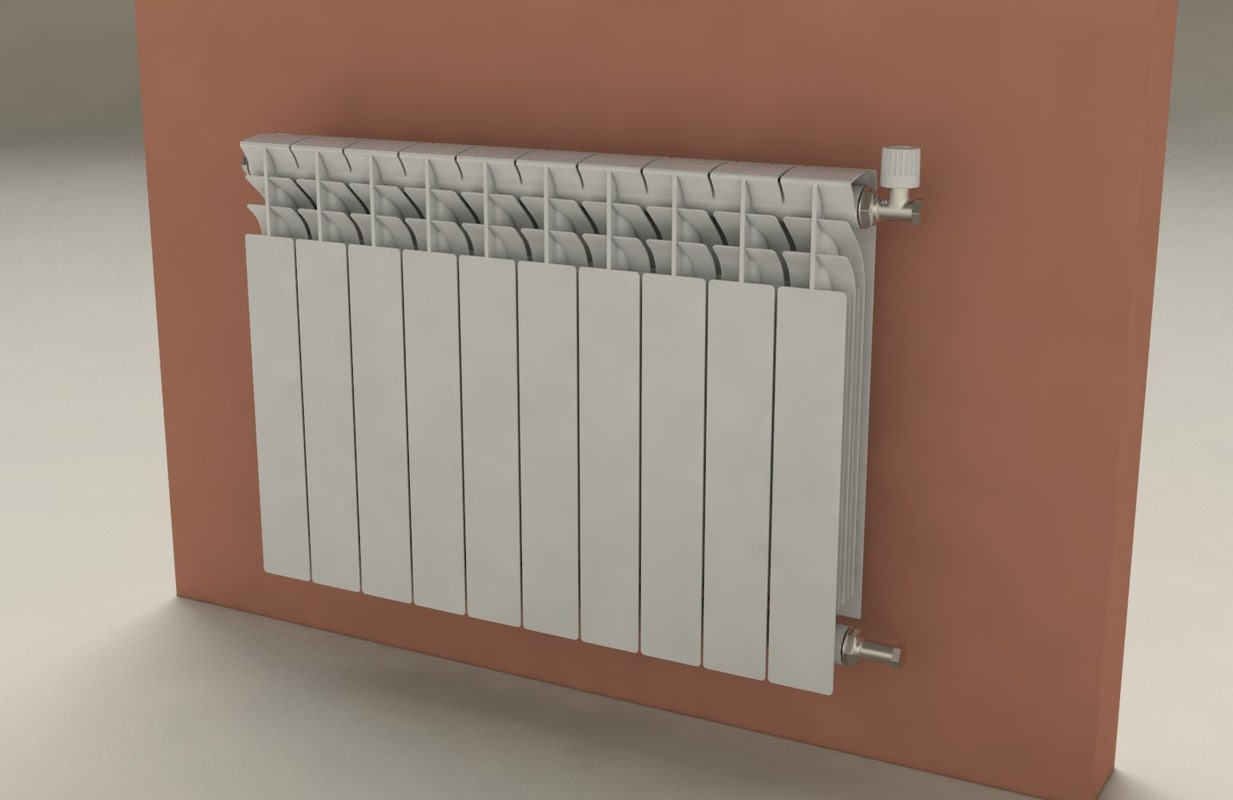 3ds max room heater