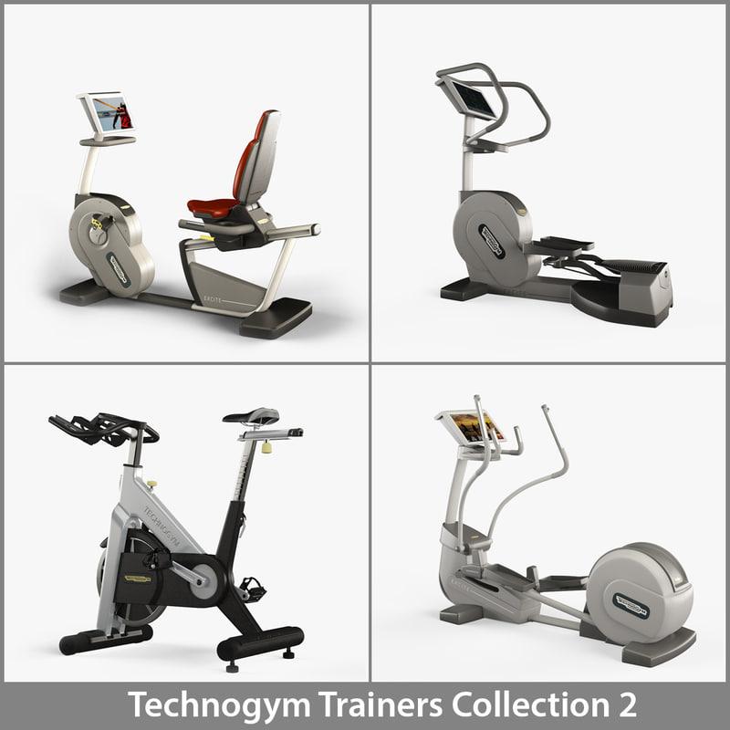 professional technogym 2 cardio max
