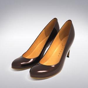 ivanka trump heels scanning 3d model