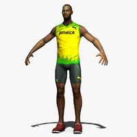 sprinter 3d model