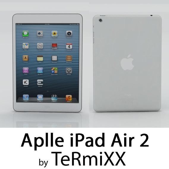 max low-poly ipad air 2