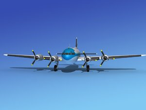 propellers boeing 307 3d 3ds
