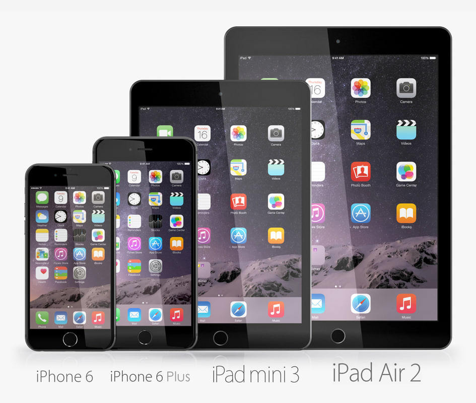 3dsmax apple electronics 2014 ipad